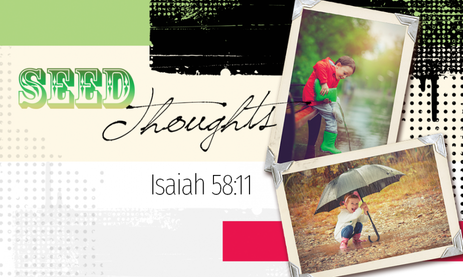 Word Of Faith - Seed Thoughts April