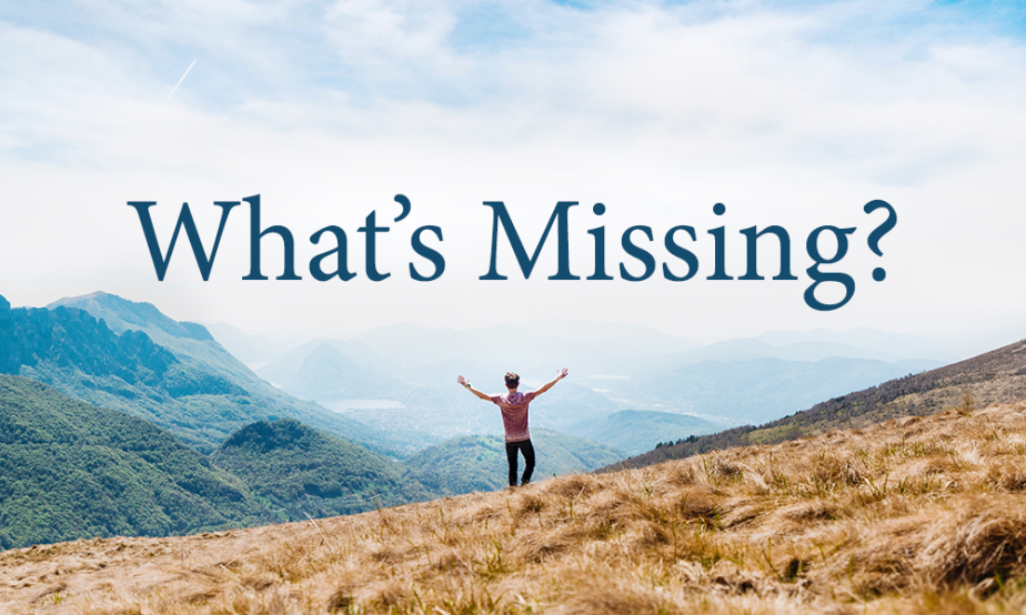 Word Of Faith - What's Missing?