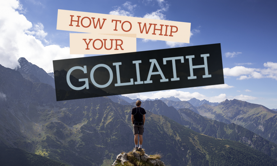 Word of Faith - How To Whip your Goliath