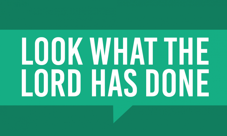 Word Of Faith - Look What The Lord Has Done