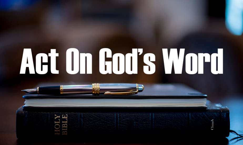 Word Of Faith - Act On God's Word