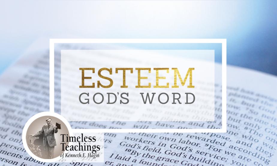 Word Of Faith - Esteem God's Word