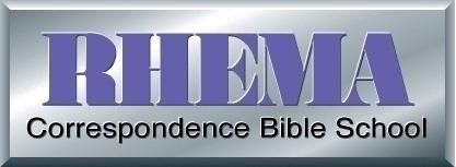 Rhema correspondence bible school logo