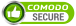 comodo secure logo - give page